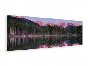 Ljuddämpande tavla - Sprague Lake Rocky Mountains - SilentSwede