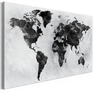 Ljuddämpande & ljudabsorberande tavla - Colourless World - SilentSwede