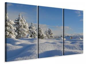 Ljuddämpande tavla - Beautiful snow landscape - SilentSwede