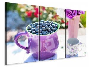 Ljuddämpande tavla - Sweet blueberries - SilentSwede