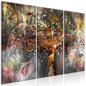 Ljuddämpande tavla - Golden Tree - SilentSwede