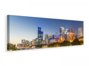 Ljuddämpande tavla - Skyline Sydney At Dusk - SilentSwede