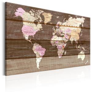 Ljuddämpande tavla - The Wooden World - SilentSwede