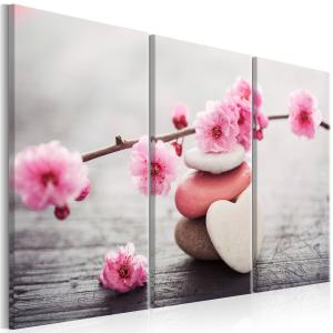 Ljuddämpande tavla - Zen: Cherry Blossoms II - SilentSwede