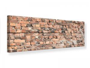 Ljudabsorberande panorama tavla - Old Brick Wall - SilentSwede
