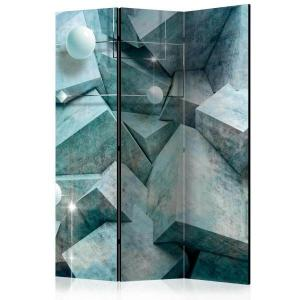 Rumsavdelare - Concrete Cubes (Green) - SilentSwede
