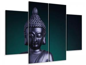 Ljudabsorberande 4 delad tavla-The Wisdom Of The Buddha - SilentSwede