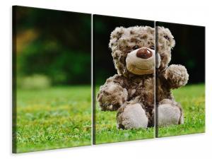 Ljuddämpande tavla - Happy teddy bear - SilentSwede