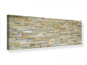 Ljudabsorberande panorama tavla - Noble Stone Wall - SilentSwede