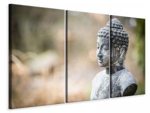 Ljuddämpande tavla - Buddha made of stone - SilentSwede