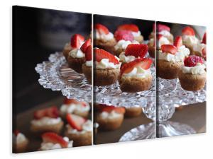 Ljuddämpande tavla - Mini cake - SilentSwede