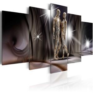 Ljuddämpande tavla - Golden touch - SilentSwede