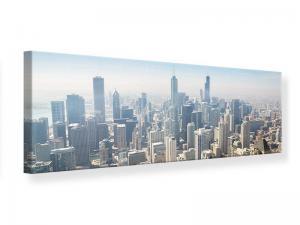 Ljudabsorberande panorama tavla - Skyscraper Chicago - SilentSwede