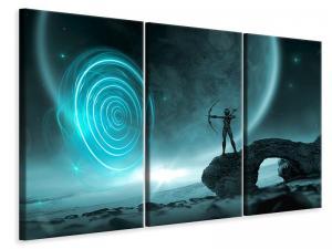 Ljuddämpande tavla - Fantasy in the universe - SilentSwede