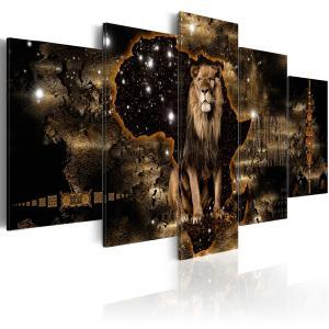 Ljuddämpande tavla - Golden Lion - SilentSwede