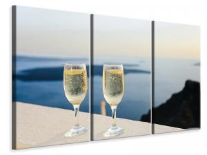 Ljuddämpande tavla - We love champagne - SilentSwede