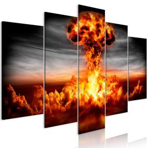 Ljuddämpande tavla - Explosion - SilentSwede