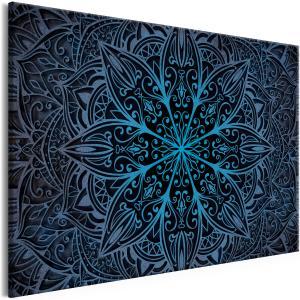 Ljuddämpande tavla - Oriental Flowers Blue - SilentSwede