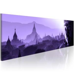 Ljuddämpande tavla - Purple Zen - SilentSwede
