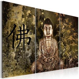 Ljuddämpande tavla - Buddha statue - SilentSwede