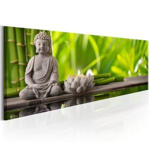 Ljuddämpande & ljudabsorberande tavla - Buddha: Meditation - SilentSwede