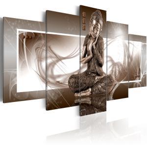 Ljuddämpande tavla - Musing Buddha - SilentSwede