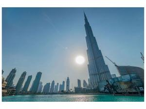 Ljudabsorberande tavla - Skyscraper Architecture Dubai - SilentSwede