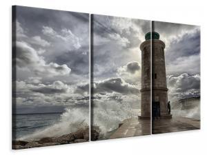 Ljuddämpande tavla - The lighthouse in marseille - SilentSwede
