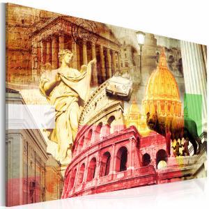 Ljuddämpande & ljudabsorberande tavla - Charming Rome - SilentSwede