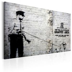 Ljuddämpande & ljudabsorberande tavla - Graffiti Area - SilentSwede
