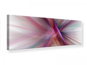 Ljudabsorberande panorama tavla - Abstract Lights Shine - SilentSwede
