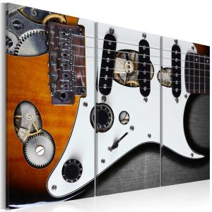 Ljuddämpande tavla - Guitar Hero - SilentSwede