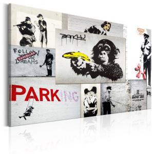 Ljuddämpande & ljudabsorberande tavla - Banksy: Police Fantasies - SilentSwede