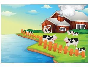 Ljudabsorberande tavla - A Cow Makes Muh - SilentSwede