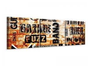 Ljuddämpande tavla - Rock In Grunge Style - SilentSwede
