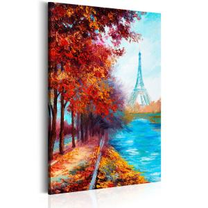 Ljuddämpande & ljudabsorberande tavla - Autumnal Paris - SilentSwede