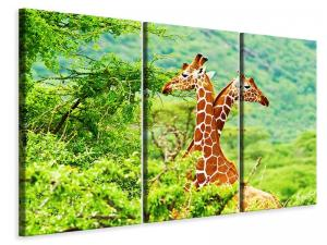 Ljuddämpande tavla - Giraffes Love - SilentSwede