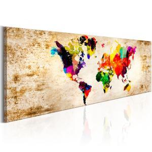 Ljuddämpande tavla - World in Watercolours - SilentSwede
