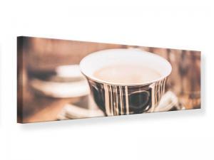 Ljudabsorberande panorama tavla - Coffee's Ready - SilentSwede