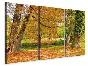 Ljuddämpande tavla - In the middle of autumn trees - SilentSwede