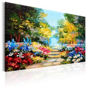 Ljuddämpande tavla - The Flowers Alley - SilentSwede