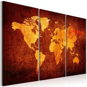 Ljuddämpande tavla - World of Orange - SilentSwede