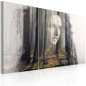Ljuddämpande tavla - Forest nymf - SilentSwede