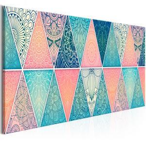 Ljuddämpande tavla - Oriental Triangles - SilentSwede