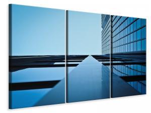 Ljuddämpande tavla - Reflections of a facade - SilentSwede