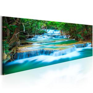 Ljuddämpande tavla - Sapphire Waterfalls - SilentSwede