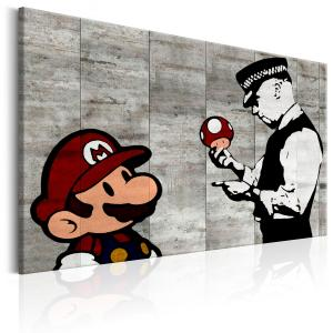 Ljuddämpande & ljudabsorberande tavla - Banksy on Concrete - SilentSwede