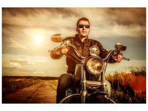 Ljudabsorberande tavla - The Cool Biker - SilentSwede