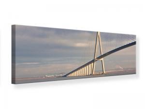 Ljudabsorberande panorama tavla - Pont de Normandie - SilentSwede
