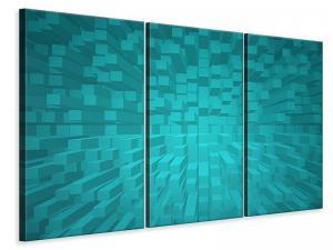 Ljuddämpande tavla - 3D Cubes - SilentSwede